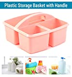 Tied Ribbons Plastic Cosmetic Organizer, Pink