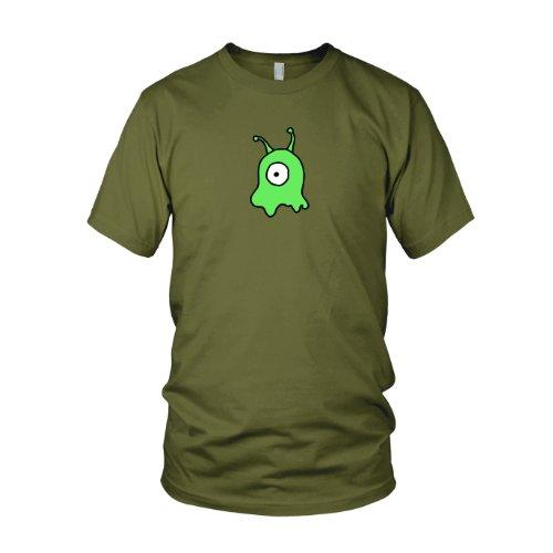 Gehirnschnecke - Herren T-Shirt, Größe: L, Farbe: ()