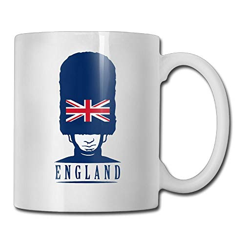 VVIANS Uk Royal Guard England Vintage Printed Coffee Tea Mug Cup for Men Women Office Work Adult3.14W x 3.74H(8x9.5cm) (Small Mouth Guard)