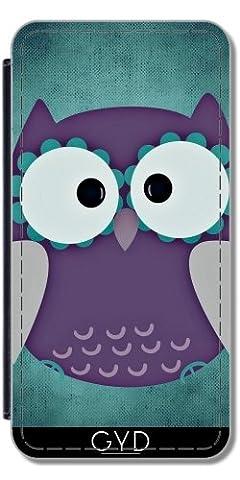 Leder Flip Case Tasche Hülle für Huawei P10 - Adler
