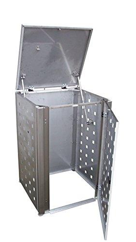 Mülltonnenverkleidung Modell Eleganza für eine 120 Liter Tonne - 2