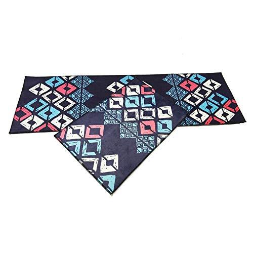 MMSM Teppiche Teppiche Küchenmatte Badezimmertürmatte Schlafzimmer Bettdecke Super Weichen Teppich Kann In Der Maschine Gewaschen Werden,T-017-60 * 90CM+60 * 180CM