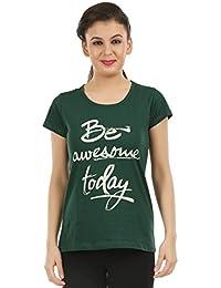 Midaas Women's Cotton Tshirts