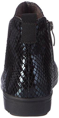 Tamaris 25441, Bottes Chelsea Femme Noir (Black Struct.)