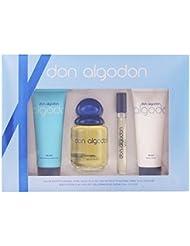 Don Algodon Eau Pulvérisée Set Cologne + Lotion pour Corps + Mini Eau de Cologne 260 ml