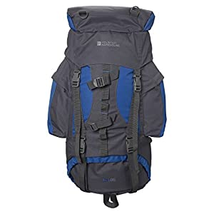4119f757aUL. SS300  - Mountain Warehouse Tor 65L Spacious Rucksack - Ladderlock Back Travel Backpack