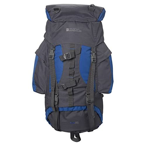 4119f757aUL. SS500  - Mountain Warehouse Tor 65L Spacious Rucksack - Ladderlock Back Travel Backpack