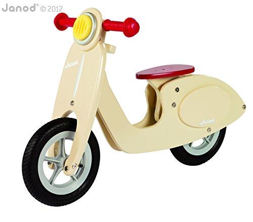 Imagen principal de Janod 4503242 - Bicicleta de madera sin ruedas (sillín ajustable de 32 a 36,5 cm) [importado de Alemania]