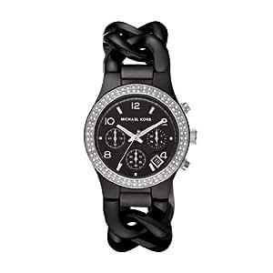 michael kors damen armbanduhr mk5388 mit schwarzem. Black Bedroom Furniture Sets. Home Design Ideas