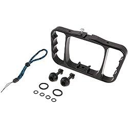 F Fityle Bras Handheld Caméra vidéo Cage Rig Stabilisateur Support Cadre Support avec 1/4 vis pour pour GoPro, Sjcam, Xiaomi Yi, Canon, Nikon, Sony - Noir