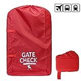 Gate Check Travel bag con maniglia in fettuccia per standard e doppio passeggini, red # 81559