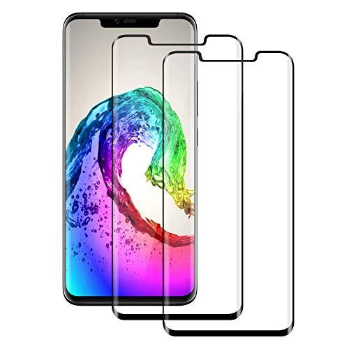 FayTun Huawei Mate 20 Pro Panzerglas Schutzfolie, [2 stück] HD Ultra-klar Upgrade Bildschirmschutzfolie, 9H Härte, Anti-Fingerabdruck, Anti-Kratzer, Blasenfreie, Bildschirmschutz für Huawei Mate 20 Pro