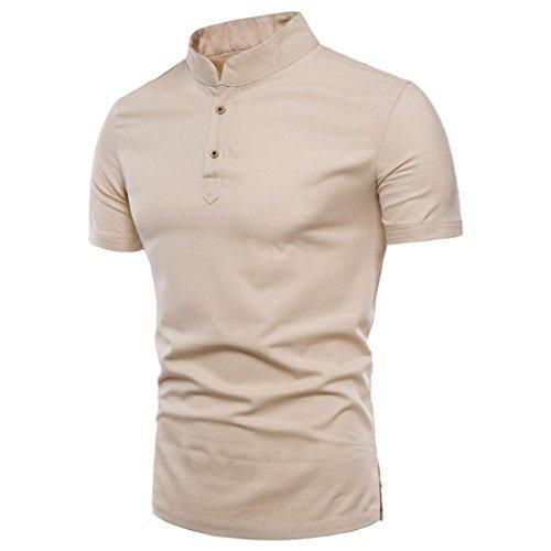 Naturazy-Camiseta Color Puro Camisas Talla Extra Polo Ropa para Verano  Regalos para Marido Camisas 17c1c1593e9f