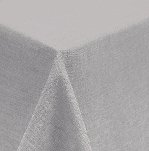 Mantel Rectangular 160x 400cm revestimiento estructura efecto lino Agua de suciedad de...