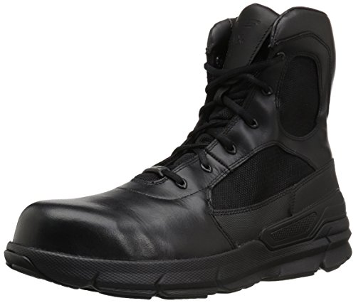 Bates Men's Charge 8 Composite Toe Side Zip Military and Tactical Boot, Black, 09.0 M US Bates Composite-boot