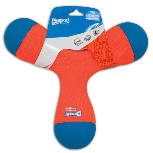 Chuckit tri-bumper Hundespielzeug, groß, 28cm