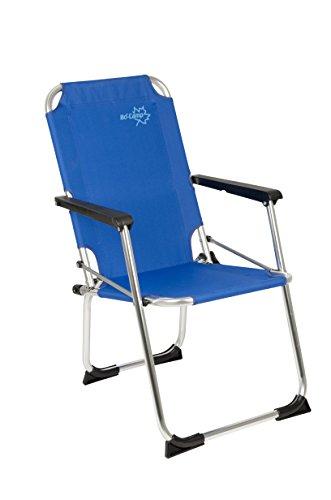 Preisvergleich Produktbild Bo-Camp Copa Rio Kids - Kinder Klapp-Stuhl Aluminium blau 43x45x75cm Belastbarkeit 80kg