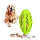 Juguete de goma masticar mascotas, Bola interactiva para mascotas...