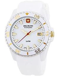 Swiss Military Hanowa 06-6200.21.001.02 - Reloj analógico de cuarzo para mujer, correa de plástico color blanco