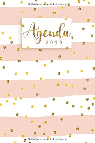 Agenda 2019: Calendar & Planificateur –  Agenda organiseur pour ton quotidien - Janvier  à Décembre 2019 par Felissa