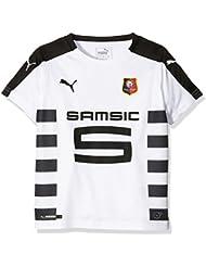 Puma-Camiseta para niño, diseño del equipo de fútbol de Rennes Bretaña 8 años, color negro talla (128)