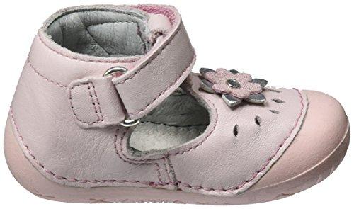Richter Kinderschuhe Baby Mädchen Richie Krabbelschuhe Pink (powde/silver/babypin)