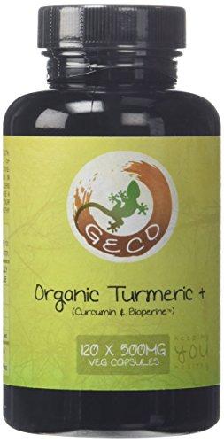 Geco-Supplements-Organic-Turmeric-Curcumin-BioPerine-120-x-500mg-Veg-Caps