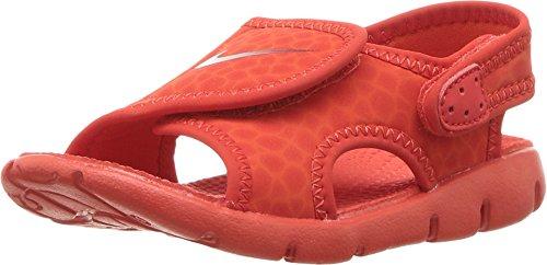 Nike386518-011 - Sunray Adjust 4 (Kleines Kind/Großes Kind) Mädchen, Rot (Habanero Red/Gym Red-Habanero Red), 17 EU M Säugling (Kohls Schuhe Von)