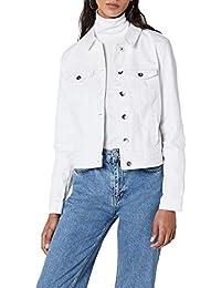 VERO MODA Damen Jeansjacke Vmhot SOYA Ls Denim Jacket Mix Noos d8cd54bef3
