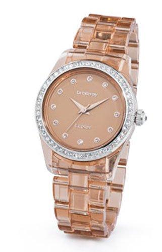 Los relojes Brosway - los relojes de las mujeres T-COLOR marrón transparente