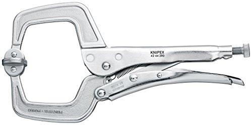 KNIPEX 42 44 280 Schweiß-Gripzange glanzverzinkt 280 mm