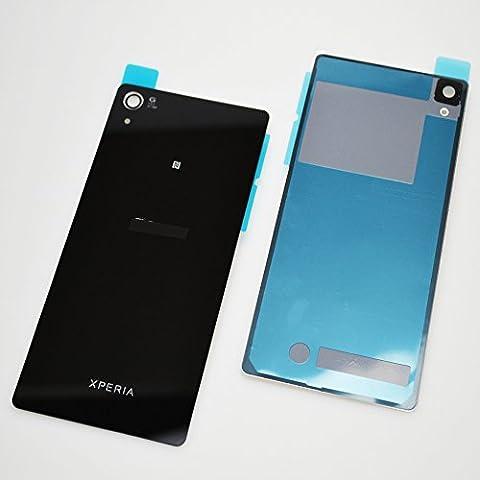 Para Original Sony Xperia Z2D6502D6503Tapa Trasera Parte Trasera En Negro Con Juego de herramientas de