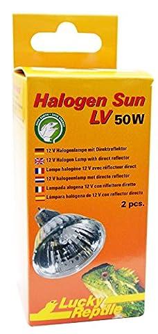 Lucky Reptile HSL-50 Halogen Sun LV, 2 x 50 Watt