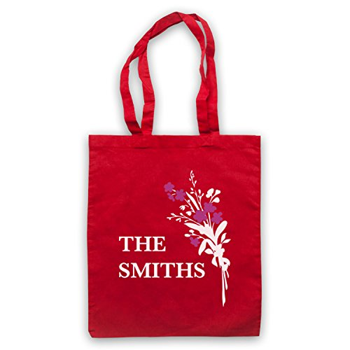 Inspiriert durch Smiths Flowers Inoffiziell Umhangetaschen Rot