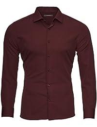 8f02f49af4a93b Suchergebnis auf Amazon.de für  hemd bordeaux - Baumwolle  Bekleidung