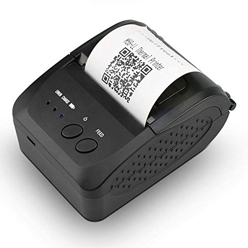 NETUM Impresora térmica inalámbrica Bluetooth recibos