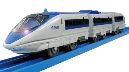 S-02 Series 500 Bullet Train w/Light (Model Train)