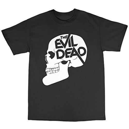 The Evil Dead Inspired T-Shirt 100% Baumwolle Schwarz