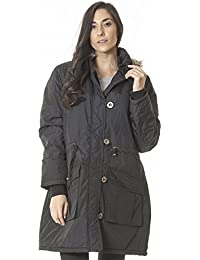 Amazon.co.uk: Faux Fur - Coats / Coats & Jackets: Clothing