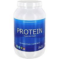Soja Protein Isolat 1 kg Vanille Made in Germany VEGAN noGMO Glutenfrei lactosefrei