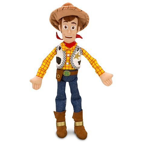 Woody Plush - Toy Story - Mini Bean Bag 12''