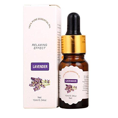 Tea Rose Parfüm Öl (Tefamore Natur Pure Dropper Essential Oils Carrier Aromatherapy Fragrance 10ml (Lavendel))