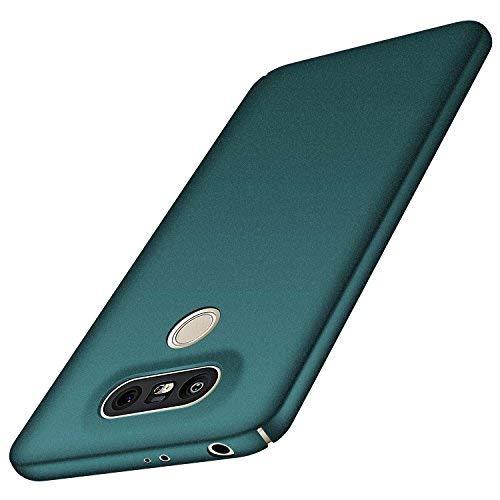 Anccer LG G5 Hülle, [Bunte Serie] [Ultra dünn] Ultimative Schutz vor Stürzen und Stößen - [Luxurious Look] Schutzhülle für LG G5 Case, LG G5 Cover (Kies Grün)