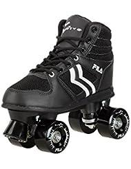 Fila – Roller de patines en línea Verve Patines, hombre, Roller-Skates Verve, negro/blanco, 39