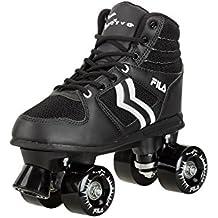 Fila Skates Verve Rollers, Hombre, Negro / Blanco, 42