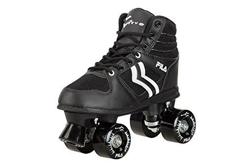 Fila Herren Roller-Skates Verve Rollschuhe, Schwarz/Weiß, 42