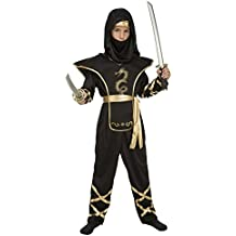 My Other Me - Disfraz de ninja para niño, 10-12 años, color negro (Viving Costumes 204887)
