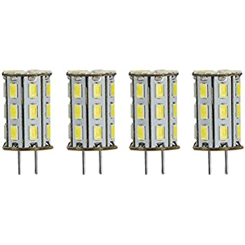GY6.35 Bombillas LED Lampe 5W AC/DC 12V Blanco 6000K 35W halógena reemplazo G6.35 bulbo de lámpara de escritorio