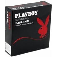 Playboy Ultra Thin Kondome–3Stück preisvergleich bei billige-tabletten.eu