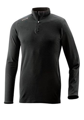 Erima Herren Rolli Active Wear, schwarz, M, 933001 - Roll-kragen-jacke